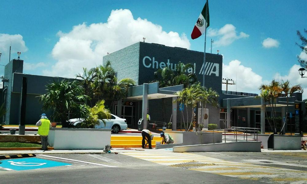 Remodelación de aeropuerto de Chetumal