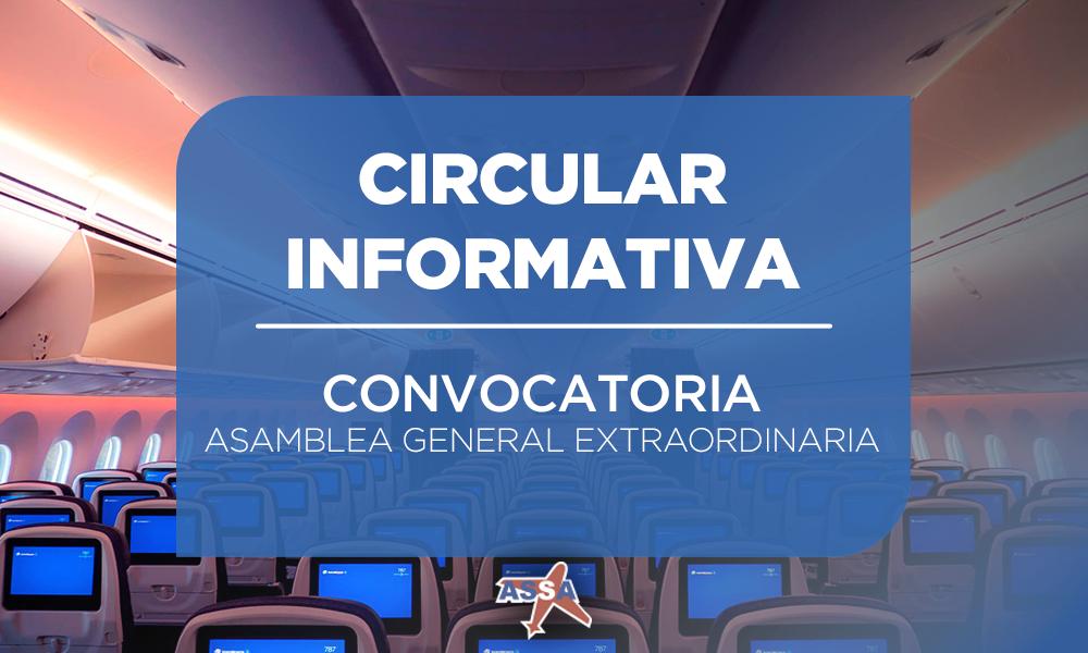 ASSA ASAMBLEA GENERAL EXTRAORDINARIA