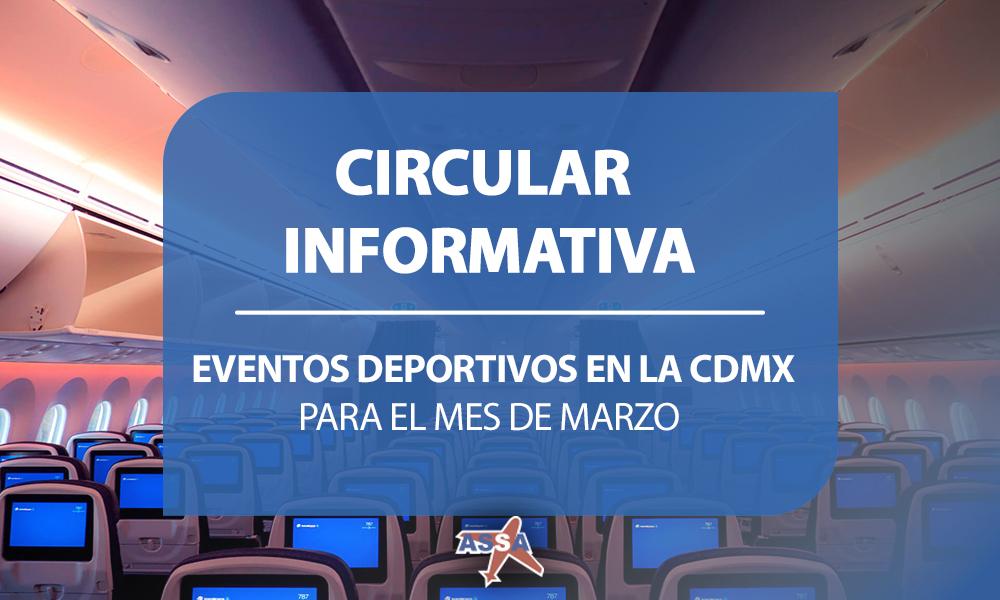 DEPORTES CDMX MARZO